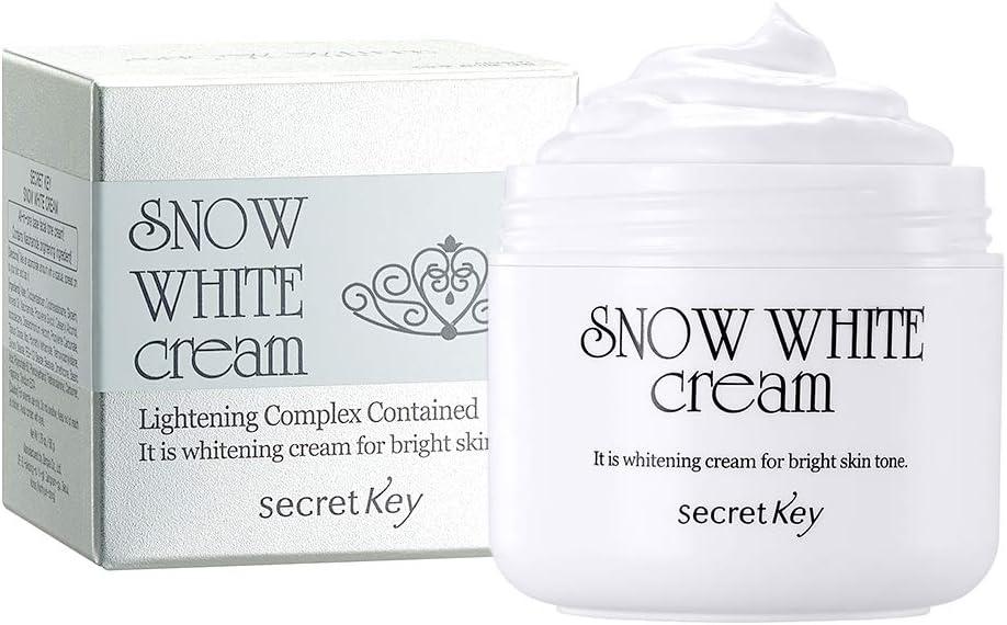 كريم بياض الثلج Snow White Cream- بديل المكياج الكوري