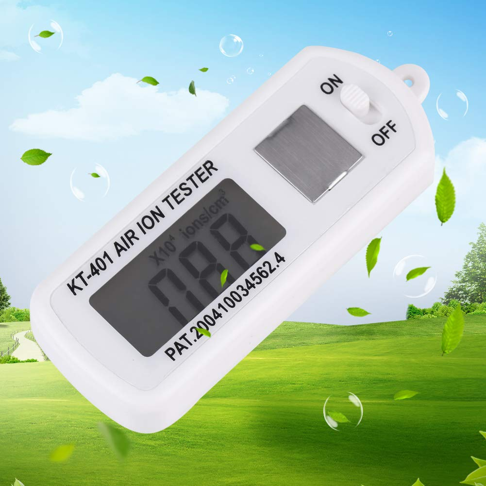 para la verificaci/ón de los Valores de aire reinigern para IONES negativos y del generators Mini Air litio Tester Meter Counter prueba negativos Anion ionometer Litio Medidor