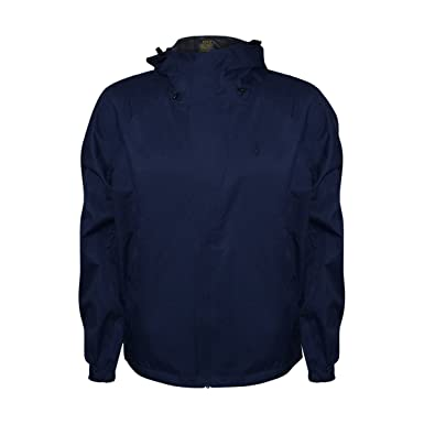 1fdf04b07 Polo Ralph Lauren Men's Performance Polyester Rain Jacket (Navy ...