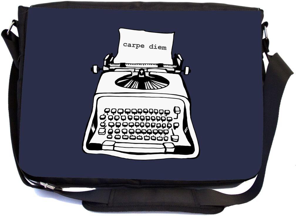 I Don't have a Short Attention Span - Messenger Bag - School Bag (UKBK)