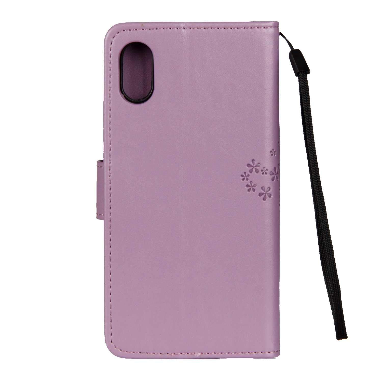 Hibou et Arbre Housse en Cuir Premium Flip Case Portefeuille Etui THRION Coque iPhone 6 Plus pour Apple iPhone 6 Plus//iPhone 6s Plus Ecran de Protection en Verre Tremp/é Vert