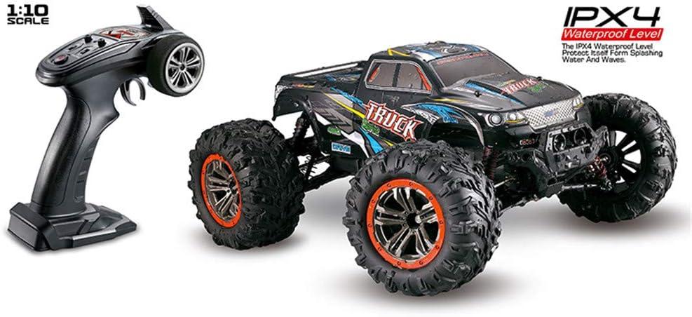 Meiyiu XINLEHONG Toys RC Car 9125 2.4G 1:10 1/10 Scale Racing Cars Coche Supersonic Monster Truck Vehículo Todoterreno Buggy Juguete electrónico Azul