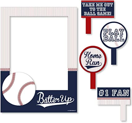Amazon.com: Batter Up – Béisbol – Fiesta de cumpleaños o el ...