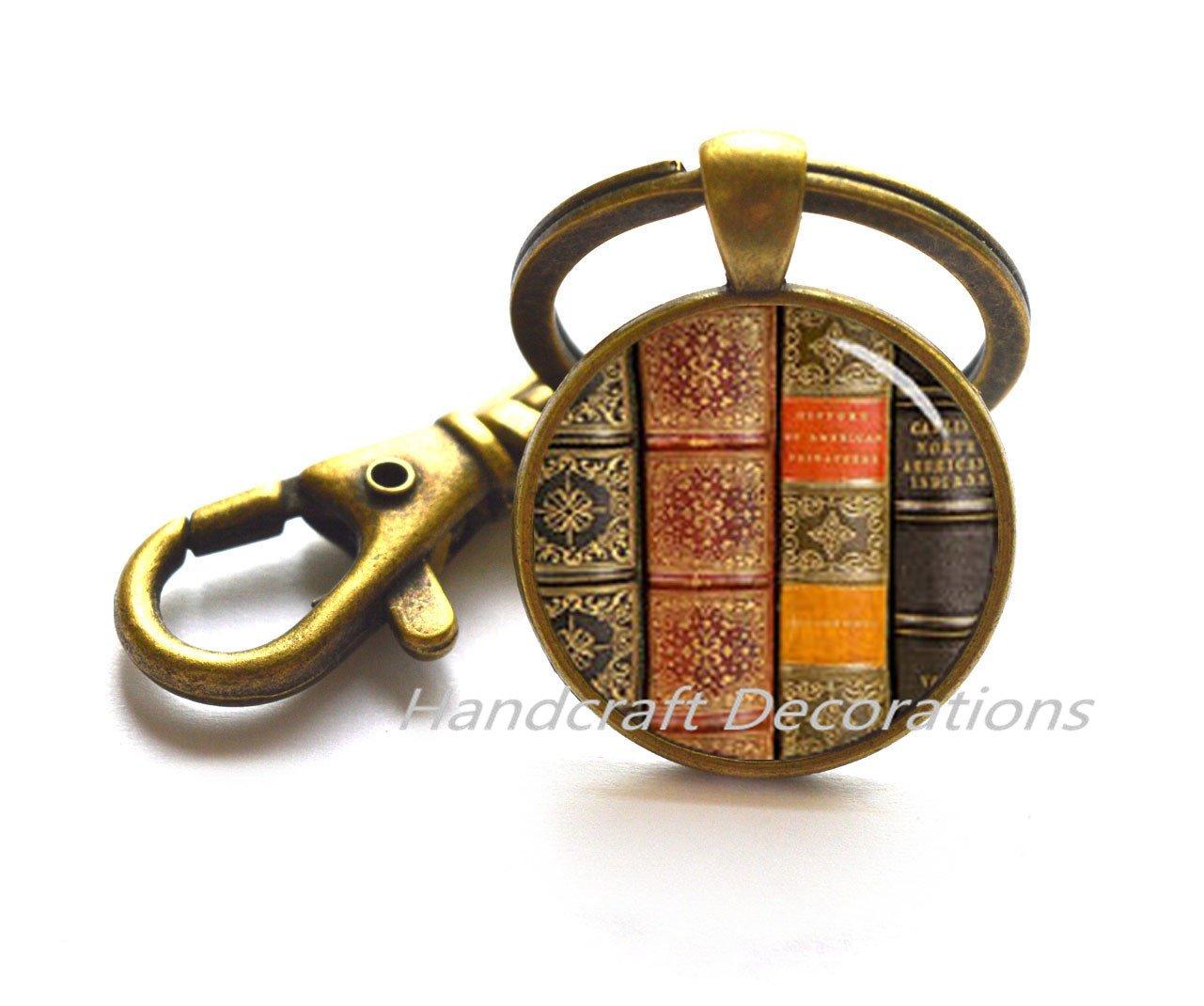 Llavero, diseño de libro, libro de regalo para escritor ...