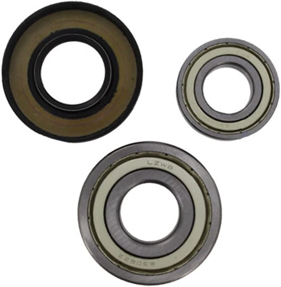 Spares2go kit de rodamiento de tambor y retén de aceite para lavadoras Bosch (6205ZZ y 6306ZZ) Fitment List D