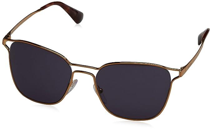 7a4216723e68 Prada 54TS 7OE6O2 Antique Gold 54TS Square Sunglasses Lens Category 3 Size  55mm