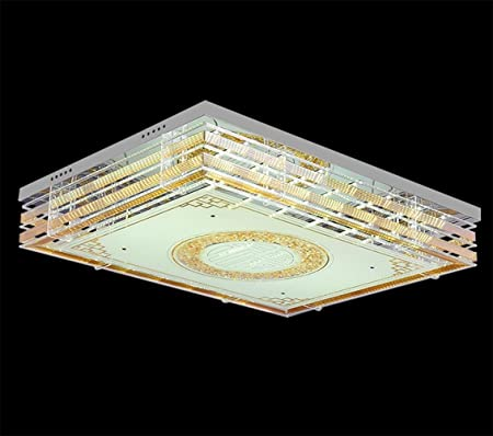 xiaojian& Modernes Luxus Kristalle Lampe rechteckige Schlafzimmer ...