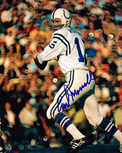 - Earl Morrall Baltimore Colts Signed 8x10 Photo