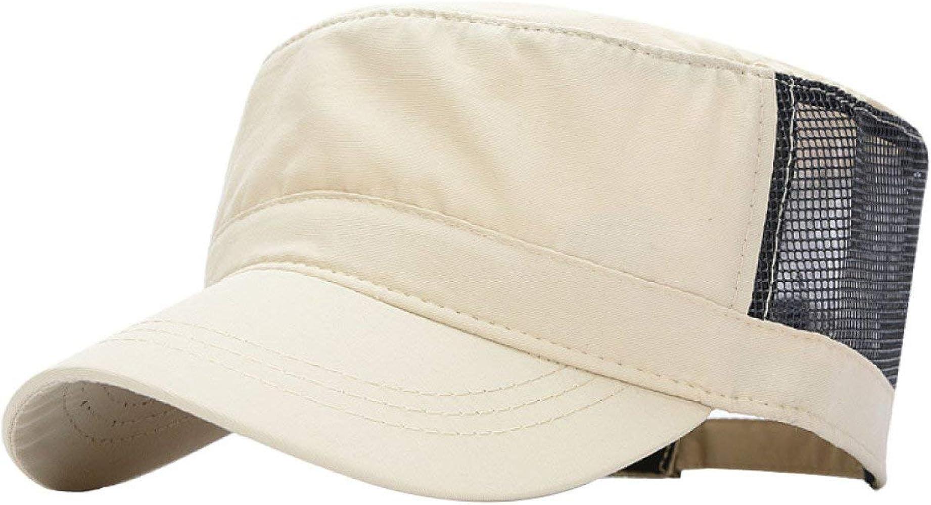 Hombres Y Mujeres Gorras De Secado Rápido Protección UV Sencillos ...