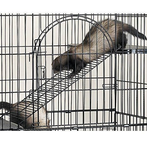 Small Animal Pet Steel Ramp Conversion 3 Piece Kit for Cages Cat Bird Ferret by Pro Select (Image #3)