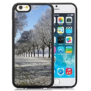 NEW Unique Custom Designed iPhone 6 4.7 Inch TPU Phone Case With Winter Alley_Black Phone Case wangjiang maoyi
