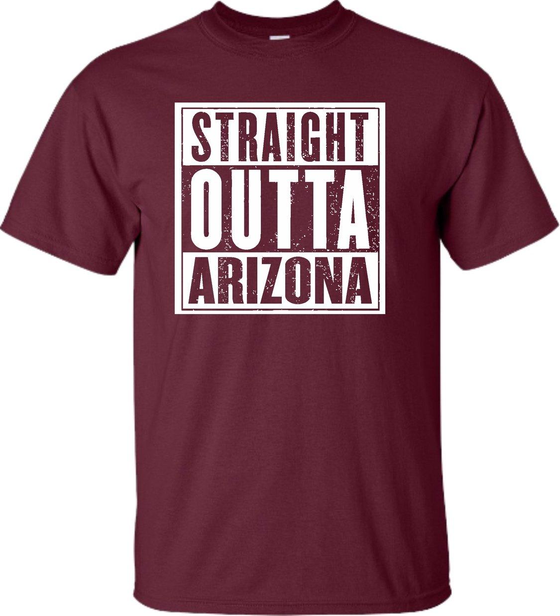 Adult Straight Outta Arizona T Shirt 3731