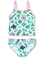 5e595e9e2b0ee The Children's Place Big Girls' Printed Tankini Bathing Suit
