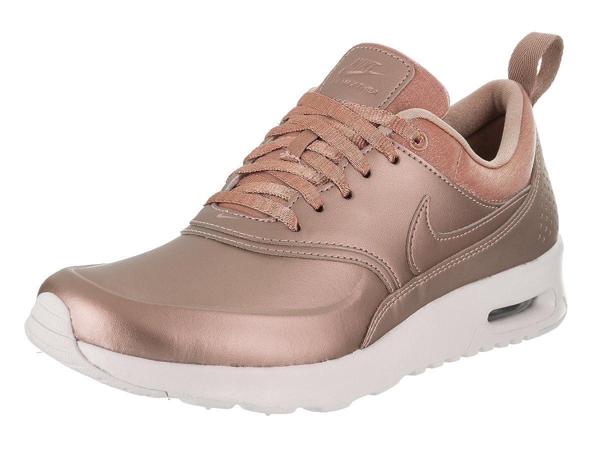 Nike Damen Air Max Thea Premium Bronze TextilLeder