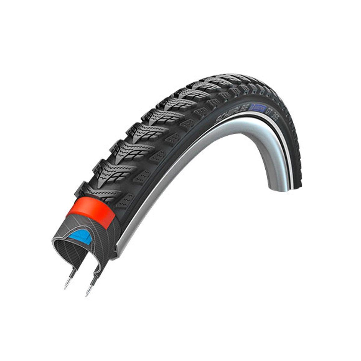 Schwalbe Marathon GT 365 HS 475マウンテン自転車タイヤ – ワイヤビーズ – 20 in B0774YPGP9Black-Reflex 20 x 1.50