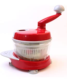 Amazing Manual Food Processor, Salsa Maker, Food Chopper, Mixer And Blender