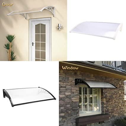Door U0026 Window Awning Outdoor Window Canopy Awning Porch Sun Shade Shelter  Outdoor Patio Rain Cover