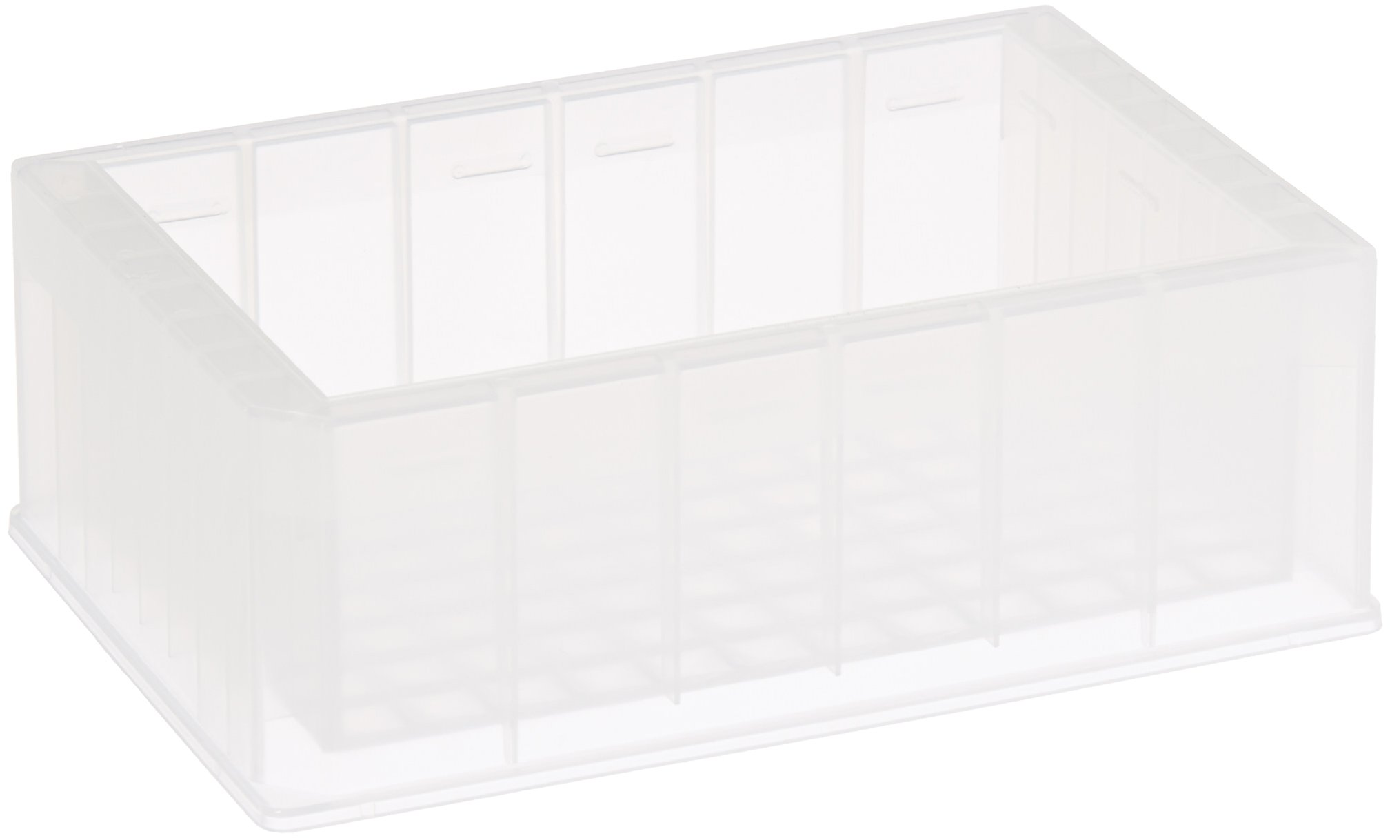 Axygen RES-SW96-HP Polypropylene Single Well High Profile Reagent Reservoir with 96-Bottom Trough, Non-Sterile, 240mL Capacity (Case of 25) by Axygen