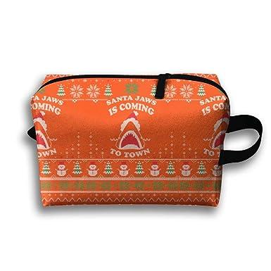 Amazon.com: Estuche de viaje con cremallera, diseño de ...
