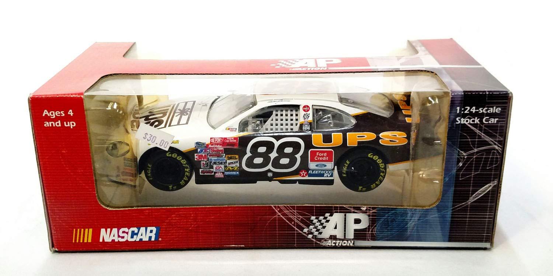 NASCAR Dale Jarrett #88 UPS 1:24 scale Race Car Die Cast Collectible
