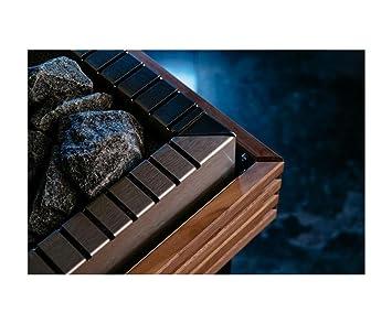 Sentiotec estufa para sauna Qube 9, 10.5, 12, 15 KW piedras F,