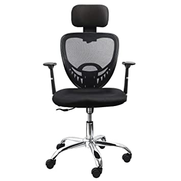 best website 797d1 2ee5c Dripex Swivel Office Chair, Compact Desk Chair with Big Enough Headrest  Weight-Activated Mechanism and Breathable Backrest Computer Chair for Home  ...