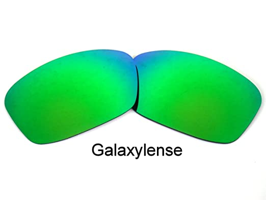 42aef1f677 Galaxy Replacement Lenses for Oakley Hijinx Emerald Green Color Polarized