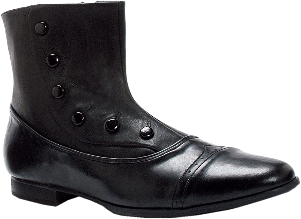 MENS SIZING Wingtp Ankle Boots Victorian Style Spat Shoes