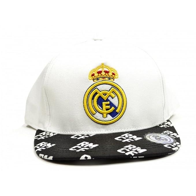 Real Madrid CF Official - Gorra de béisbol clásica con escudo del ...