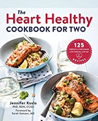 Perfectly portioned recipes for two healthy hearts.              When cooking with heart health in mind, portion sizes are just as important as ingredients. This heart healthy cookbook saves you the guesswork of what and how m...