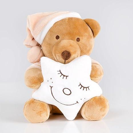 acogedora Reloj Juego Reloj/música/dormirte tranquilamente de Sleeping Bear en varios. Colores