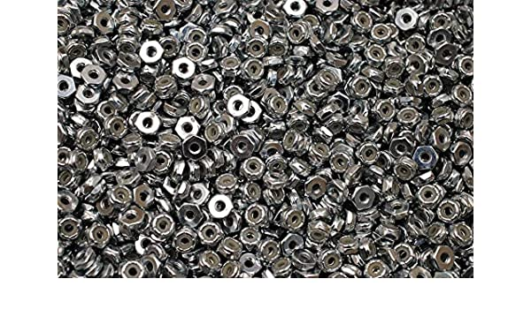 Nyloc Jam Nuts 1//2-13 x 3//4 Zinc Plated Nylock Hex Locking Nut 200