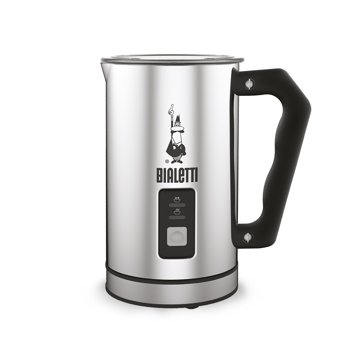 Bialetti Aluiminum Electric Milk Frother, Silver 20004430 4430_silber-