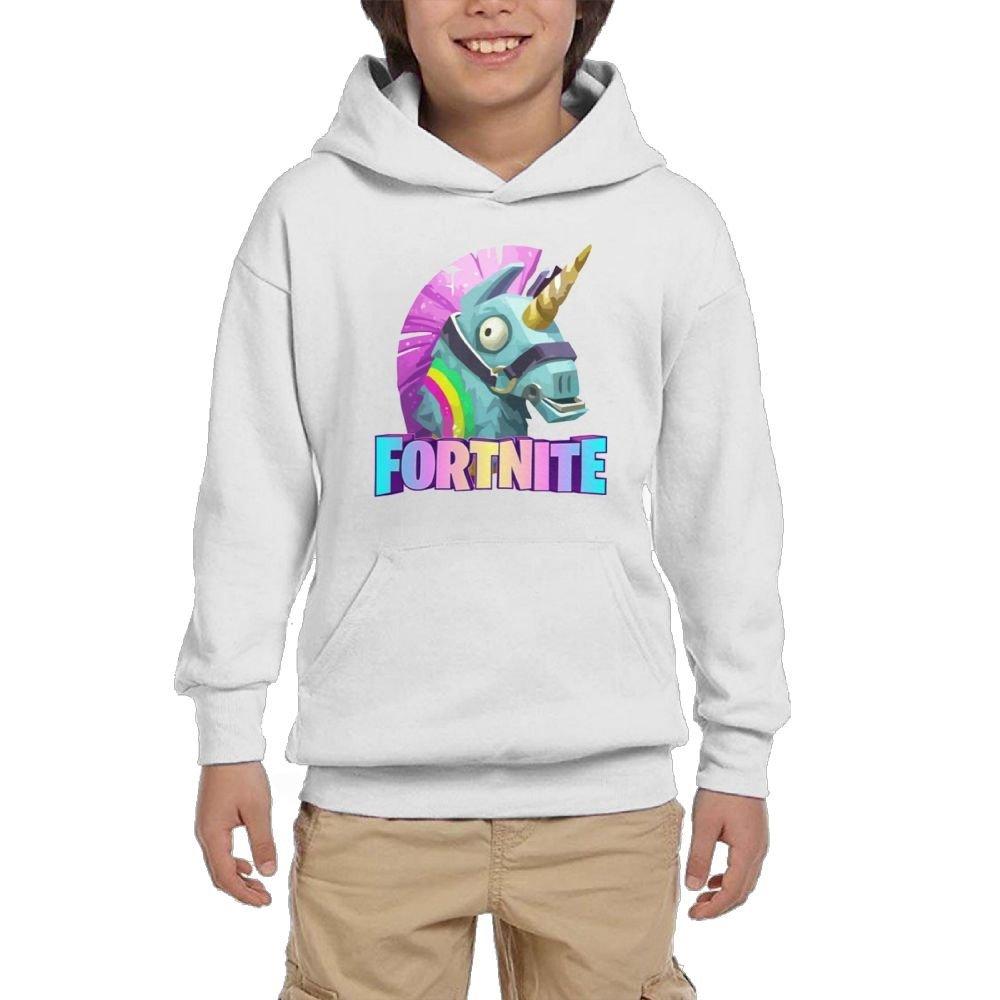 Anzhuzhen Full Zip Hoodie, Cotton Sweater Llama tnite Hoodies Boys Kids Teen Girls