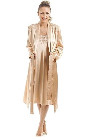 Camille - Bata - para mujer Dorado dorado: Camille: Amazon.es: Ropa y accesorios
