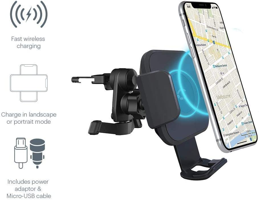 Cygnett Magmount Race 10W Wirless Car Charger: Amazon.co.uk