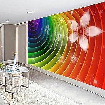 Wapel 3D Stereo Farbe Abstrakten Linie Blume Foto Tapete Einfache Moderne  Wohnzimmer Schlafzimmer Ktv Bar Einrichtung