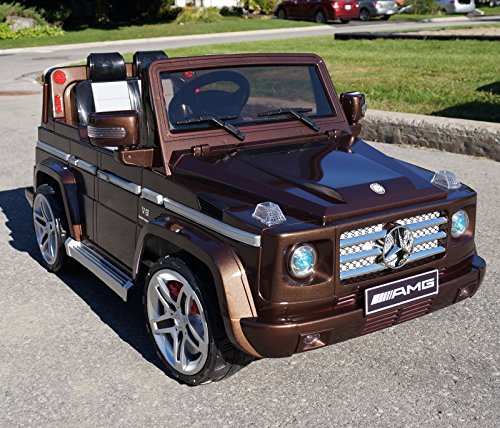 2015 licensed mercedes benz g55 amg kids ride on power for Mercedes benz power wheels