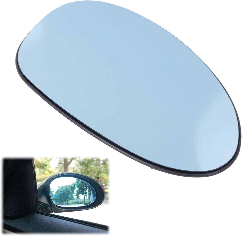 Wing Side Mirror Glass Convex Heated RIGHT Fits BMW E90 Sedan 2005-2008