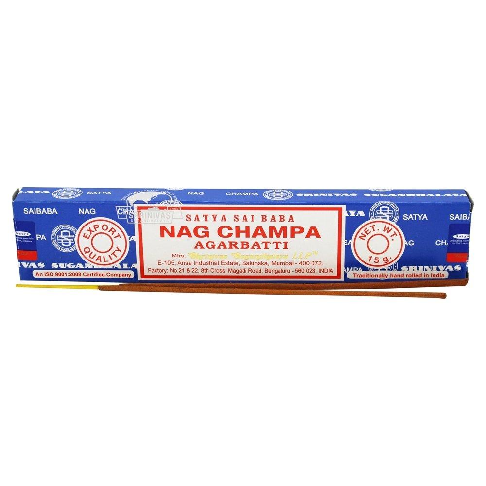 Nag Champa Original Incense Sticks (Whole Case) by SIL B000WD3URA