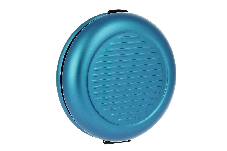 Ögon CD-Azul Monedero de Metal Cartera Azul
