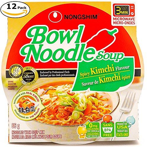 Top bowl noodle soup nongshim