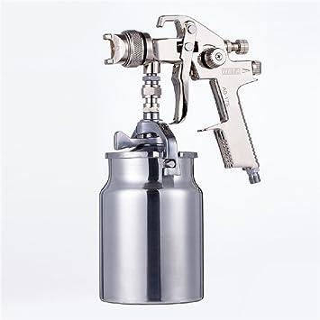 HJJH 1.5Mm Máquina De Pulverización Manual Gravity/Siphon X Lower Pot Compresor De Aire Pintura Eficiente Paint Spray Tool: Amazon.es: Hogar