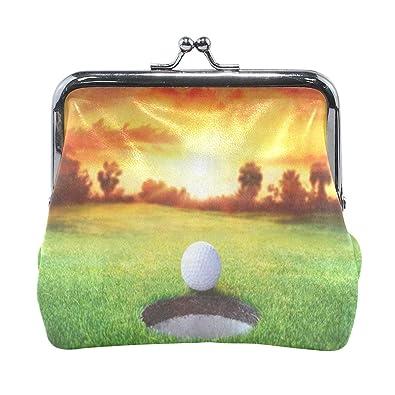 Amazon.com: Monedero deportivo Sunset pelota de golf para ...
