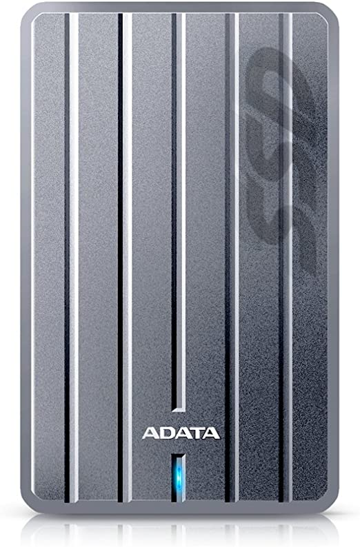 ADATA ASC660H-512GU3-CTI SC660H 512GB Ultra-Slim USB 3.1 External Solid State Drive External Solid State Drives at amazon