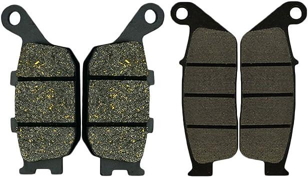 ECCPP Rear Carbon Fiber Brake Pads for Honda VTX 1300 S//C//R//T 2003 2004 2005 2006 2007 2008 2009 2010 2011