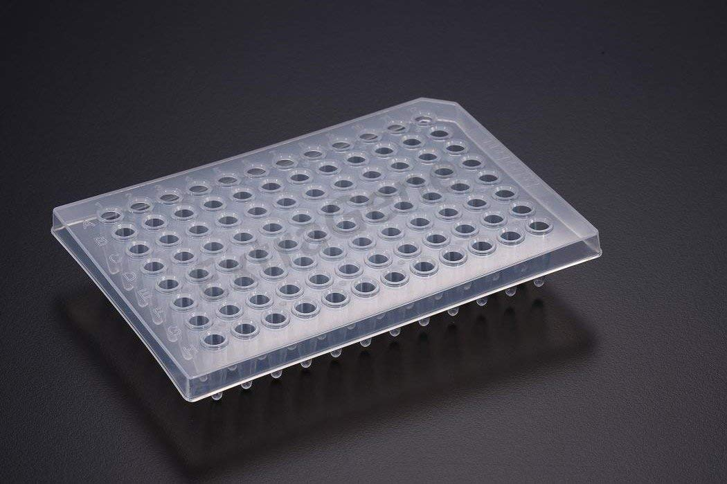 Extragene PCR Plate 96-Well, Half Skirt DNase and RNase Free (Pk x 10 Plates) by ExtraGene