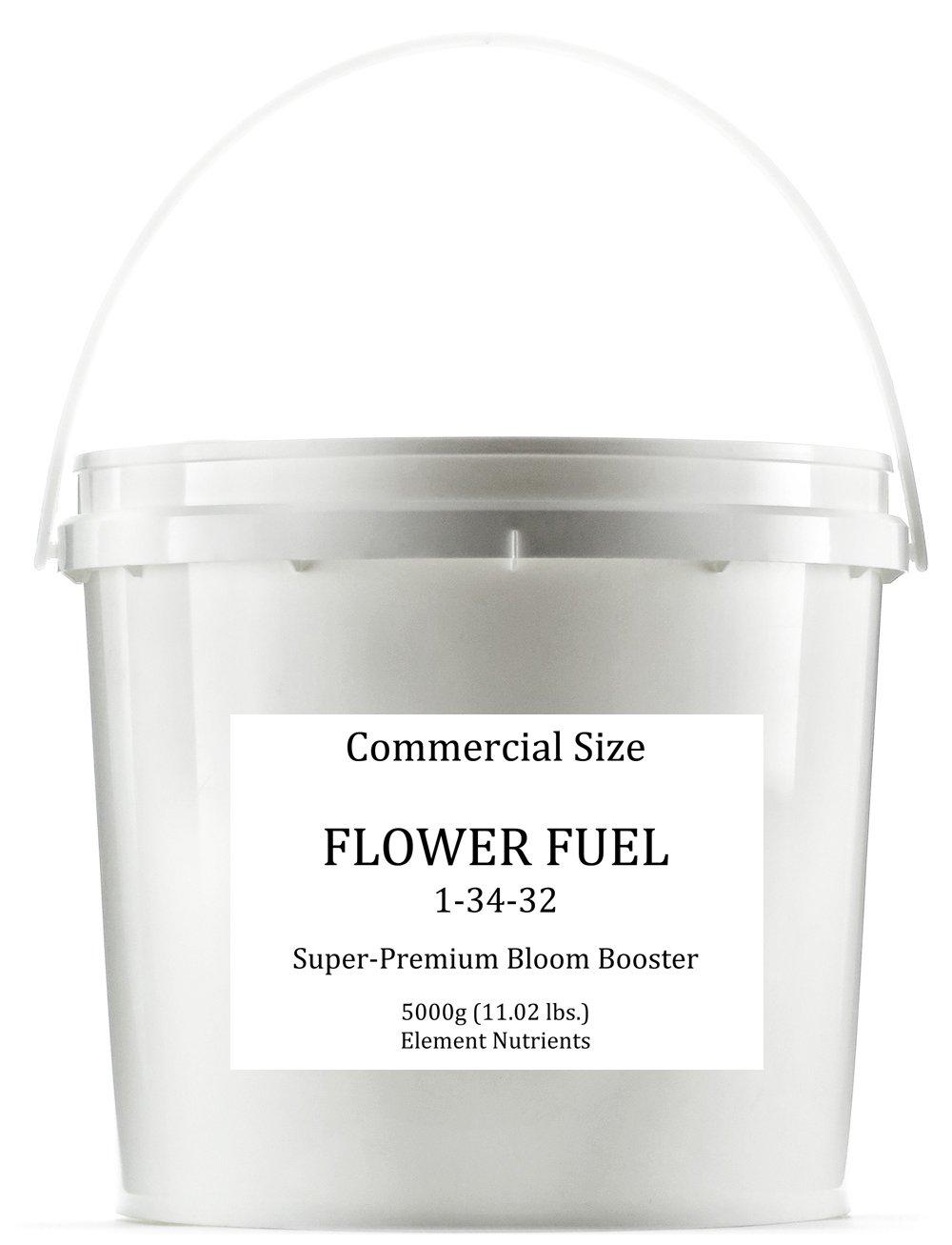 Flower Fuel 1-34-32, 5000g - The Best Flower Additive For Bigger, Heavier Harvests (5000g)