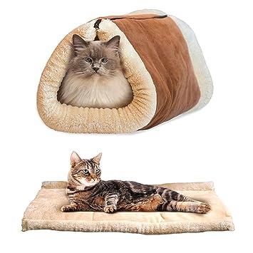 Amazon.com: daycount® 35 x 22 inch mascota gato cama cómoda ...
