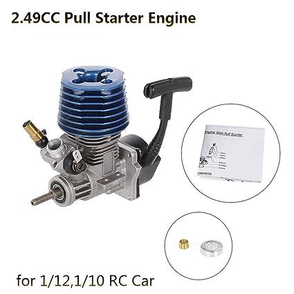 HPI DF 2.49cc Motore Per Buggy Car Redcat LRP Hobao Team Traxxas Kyosho HongNor HSP